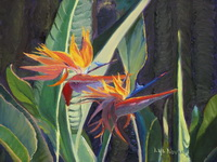 "thumbnail of painting ""Birds of Paradise"""