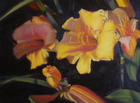 "thumbnail image of painting ""Day Lilies"""