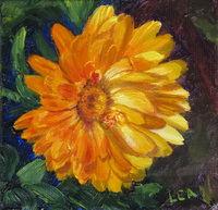 "thumbnail image of painting ""Even the Flowers in Autumn Are Golden"""