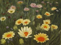 thumbnail image of painting Field of Flowers""