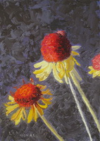 image of wildflower painting