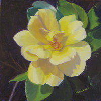 "thumbnail image of painting ""Yellow Rose of..."""