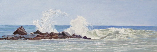 "image of painting ""Lapping Waves on a Sunny Day"""